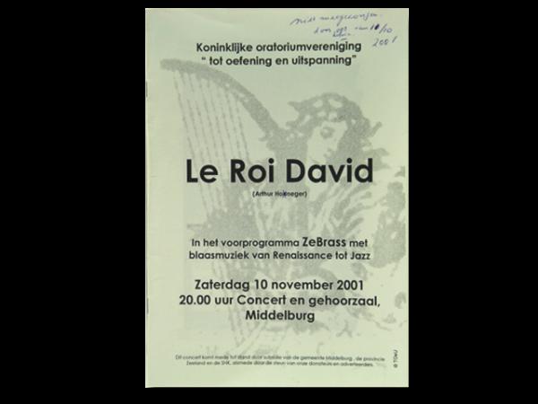 2001-11-10-LeRoiDavid_AHoneger_KOV