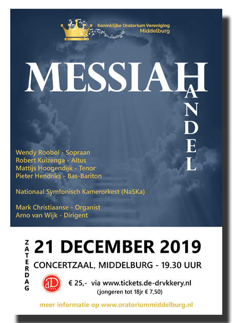 Messiah – Handel 21  december 2019